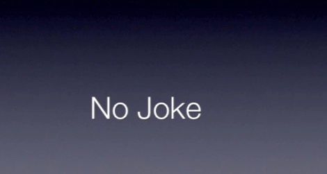 No Joke digital story