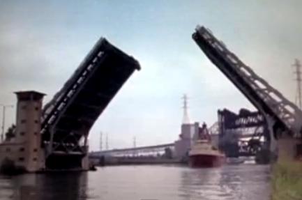 the bridge opens