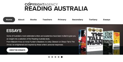 Reading Australia essays
