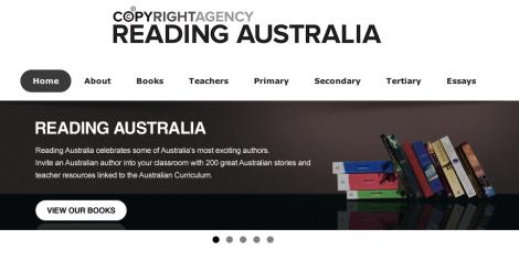 Reading Australia home