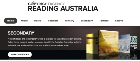 Reading Australia Secondary