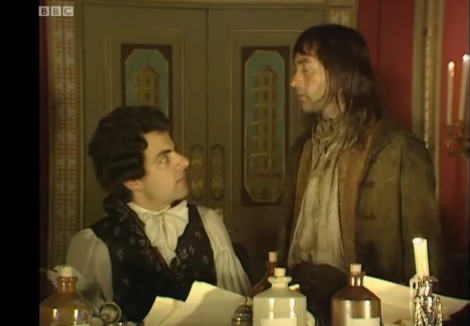 Blackadder scene