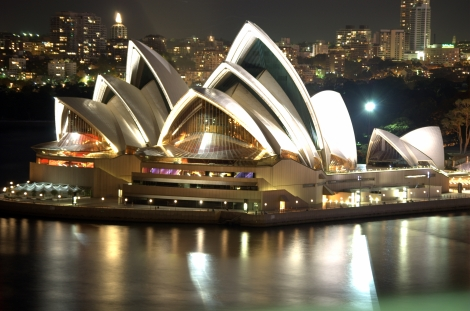 opera house night