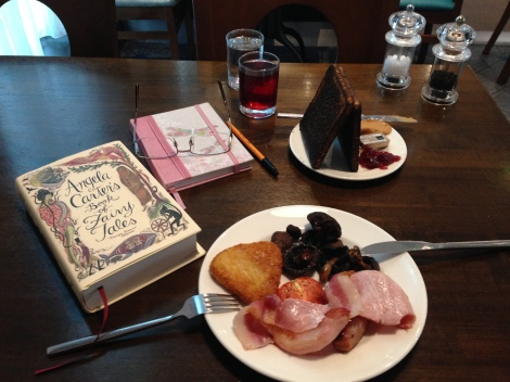 Plymouth breakfast with Angela Carter