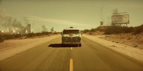 escapist desert drive