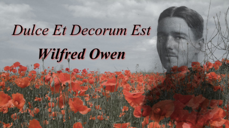 language techniques and their importance dulce et decorum Dulce et decorum est is a poem written by wilfred owen set during world war 1 written in 1917, and talks about the trials and hardships that soldiers went through  wilfred owen aims the poem at the government of the time criticising their decisions and for perpetuating the attitude that it is heroic to fight as a soldier in war and .