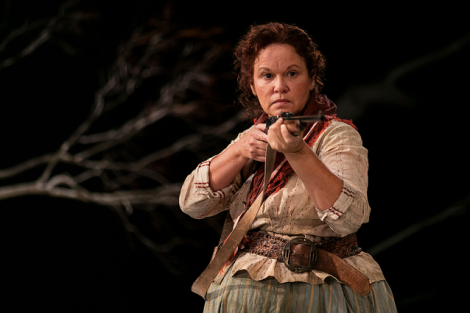Molly Johnson - the drover's wife