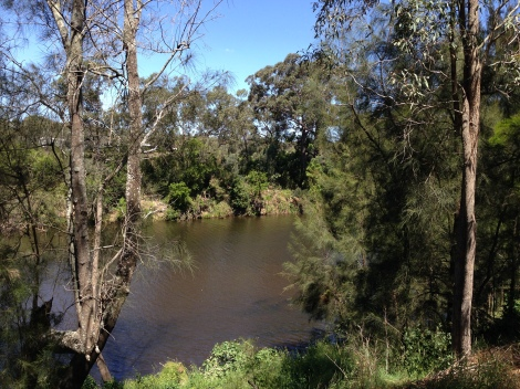 by the river at Casula Powerhouse