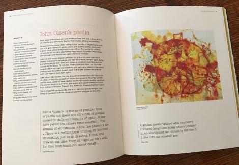 John Olsen's paella from John Olsen: a recipe for art