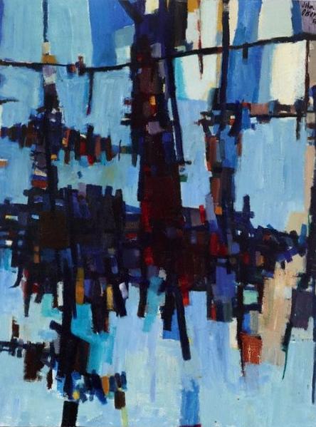 Dry Salvages, John Olsen 1956